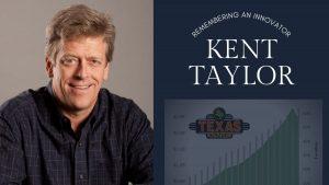 Kent Taylor, Remembering An Innovator